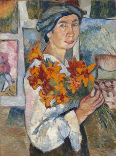 Paula Modersohn-Becker, Self-Portrait, 1906