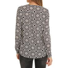 Buy Betty Barclay Graphic Print Blouse, Black/Taupe Online at johnlewis.com