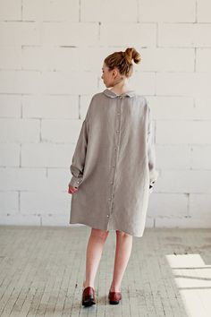 100% Natural #linen #dress perfect for #travel and #everyday
