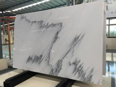 Calacatta Grey Marble Slab Good for your flooring tile, counter top, wall covering Email: Blue Granite Countertops, Cleaning Granite Counters, Bathroom Countertops, Ink Wash, Xiamen, Calacatta, Picture Sizes, Counter Top, White Marble