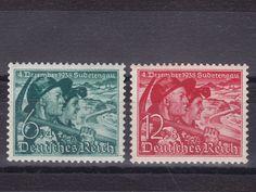 Deutsches Reich 1938 Sudetenland abstimmung MiNr. 684 - 685