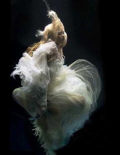 Angels live under water