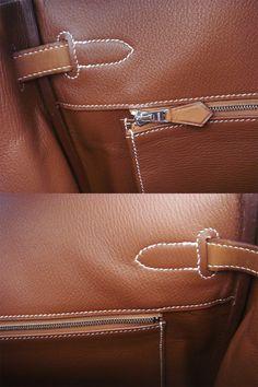 Birkin 35 Barenia Palladium Hardware Bag Phw