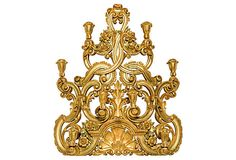 Baroque Giltwood Wall Sconce on OneKingsLane.com