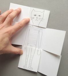 Exquisite Corpse Drawing Game