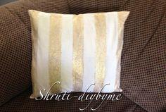 Glitter Pillows DIY