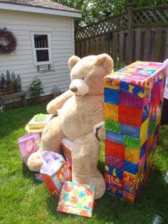 Giant Teddy bear!