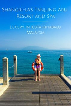 Shangri-la's Tanjung Aru Resort Spa is an awesome family-friendly luxury hotel in Kota Kinabalu, Malaysia via @lajollamom