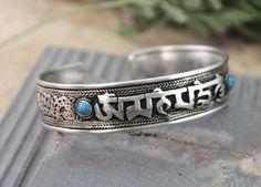 Dharmashop.com - Dragon Turquoise Sanskrit Om Mani Bracelet , $26.00 (http://www.dharmashop.com/dragon-turquoise-sanskrit-om-mani-bracelet/)
