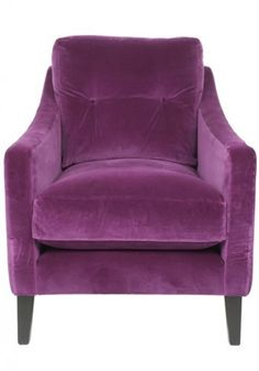 comfy reading armchair #purple