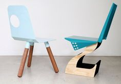 Full Moon chair and Hybrid chair