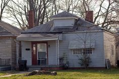 The home (today) in Louisville where Ali grew up.