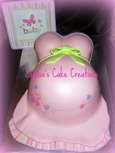 Butterfly Baby Shower Theme for Girls | Sophias Cake Creations: April 2011