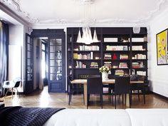 Intérieur Parisian #Library