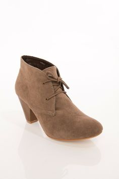 ShopSosie Style : Young Lace Up Bootie @Jenna Flores  do you like these?