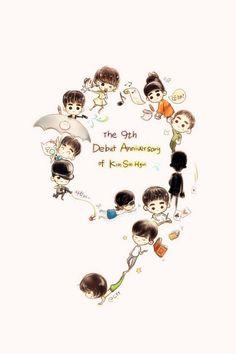 #KimSooHyun #김수현 #Happy9thDebutAnniversary