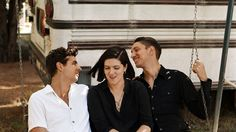 Romy Madley Croft, Oliver Sim and Jamie Smith have been a trio since childhood, but like any long-term relationship, it's taken work. They joined NPR's Ari Shapiro to talk about their unique bond.