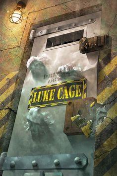 Luke Cage 166 by Rahzzah Comic Book Covers, Comic Books Art, Book Art, Luke Cage Jessica Jones, Old Man Logan, Arkham Knight, No Name, Marvel Heroes, Cartoon Art