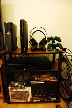 neglected gaming set-up