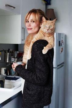 Anna Agneta and Cat: Captain