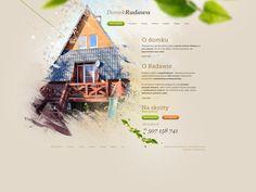 Domek Radawa by Michal Straczek, via Behance - as if looking through leaves