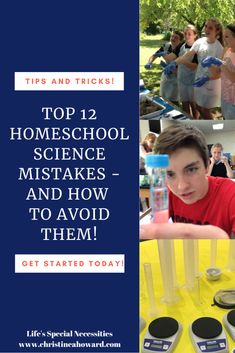 Top 12 homeschool science mistakes - and how to avoid them! High School Biology, High School Science, Teaching Science, School Levels, School Grades, Thinking Skills, Critical Thinking, Report Writing Skills, High School Years
