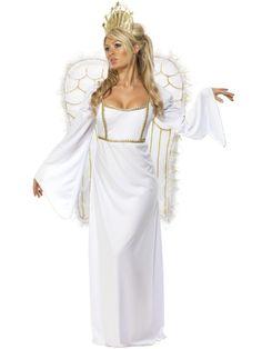 Angel #costume. Disfraz de angel adulto. #disfraces #navidad
