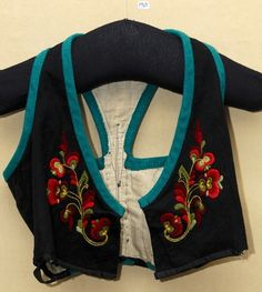 DigitaltMuseum - Liv vest Telemark Jacket Style Kurti, Sewing Projects, Vest, Textiles, Norway, Costumes, Blouse, Jackets, Clothes
