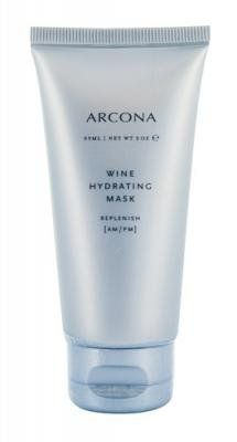 Arcona Wine Hydrating Mask, 2 oz. by Arcona. $38.00. Stimulate cellular renewal, reduce wrinkles. Revitalize skin with borage, macadamia nut and carrot oils, shea butter and vitamin E. Arcona is a holistic skin care line without any fillers, chemical stabilizers or petro-chemicals. Moisture-binding mask to nourish and replenish dry, dehydrated, depleted skin. Repair, Refresh, RefineWine Hydrating Mask nourishes and replenishes dry, depleted skin. Grape seed an...