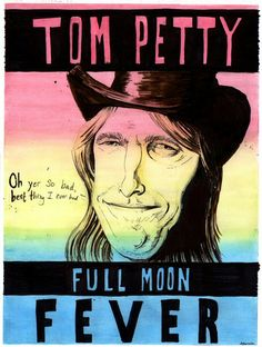 Tom Petty Full Moon Fever Tom Petty T Shirt, Full Moon, Album Covers, Toms, Canvas Art, Poster Prints, Music Posters, Fictional Characters, Pictures