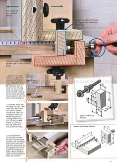 Router Fence Micro Adjuster - Router