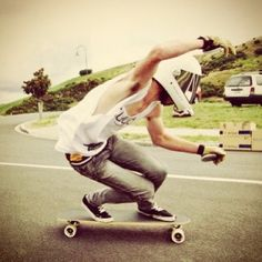 Learn how to longboard.