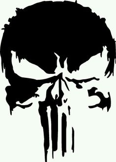 Detalhes sobre Nova Marvel Punisher Skull Premium Vinyl Decal- mostrar título no original Choose your color and size and continue to checkout. The unique Oracal face film is mil which splits the difference between 2 mil cast vinyls and most 3 mil calen Punisher Tattoo, Punisher Logo, Skull Stencil, Stencil Art, Skull Art, Stencils, Punisher Marvel, Totenkopf Tattoos, Airbrush Art