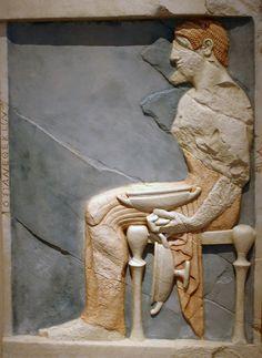 Stele. Atenas. 500 bC