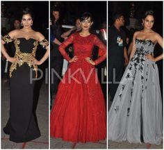 Sophie Choudry in Monisha Jaising, Amrita Rao and Richa Chadha in Hema Kaul