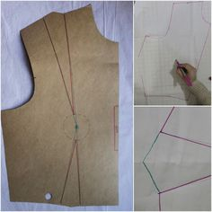 Tutorial: How To Move Darts without slashing your pattern