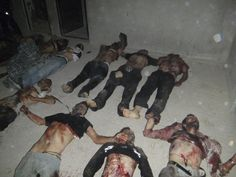 """July 27, 2012 - ARTICLE  and PHOTO - MASSACRE - VICTIMS - WAR CRIMES: REGIME - """"The Syrian regime is amassing troops in Aleppo in order to carry out a massacre, fears the US. President Bashar al-Assad's regime has deployed several tanks, helicopter gunships and fixed-wing aircraft which suggest preparation for a massacre, according to the US State Department."""" (Photo: Reuters) File Picture - Syria Civil War: Aleppo Massacre on Cards, Fears US"""