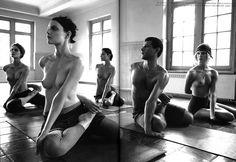 """Supermods Enter Rehab"" - 2007  Vogue Italia, July - Steven Meisel"