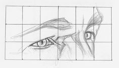 Drawing Faces Drawing Eyes at Angle Demo, Step 1 How To Make Drawing, How To Draw Hair, Learn To Draw, Figure Drawing, Learn Drawing, Realistic Eye Drawing, Drawing Eyes, Pencil Drawing Tutorials, Pencil Drawings