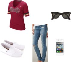 """""""''Baseball outfit''"""" by imawesomeee on Polyvore"""