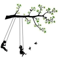 Swing - Wall Decals Stickers Appliques Home Decor | Shop wellness, fitness| Kaboodle