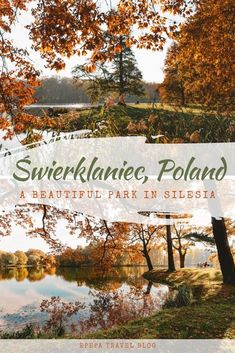 Świerklaniec Park, Poland - autumn photos of the most beautiful park in Upper Silesia Beautiful Park, Beautiful Places, Autumn Photos, Just Like Heaven, Genius Loci, Autumn Walks, Bright Pictures, Cities In Europe, Above The Clouds