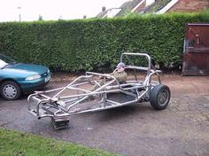 Almost rolling Robin Hood chassis.