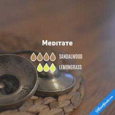 Meditate - Essential Oil Diffuser Blend