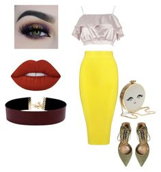 """Mix"" by znhelen on Polyvore featuring River Island, Posh Girl, Steve Madden, Lime Crime, BHCosmetics and Vanessa Mooney"