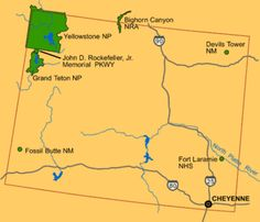 193 Best States Wyoming images
