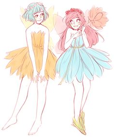 mine and maya's fairy girlfriends are the fricken cutest bye
