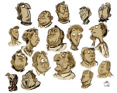 || CHARACTER DESIGN REFERENCES | Find more at https://www.facebook.com/CharacterDesignReferences if you're looking for: #art #character #design #model #sheet #illustration #best #concept #animation #drawing #archive #library #reference #anatomy #traditional #draw #development #artist #how #to #tutorial #conceptart #modelsheet #jesse aclin