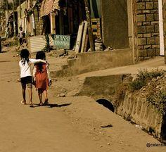 Ethiopia friendship: Only too familiar! <3