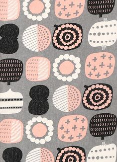 Staying with the Japanese theme these fabrics from Kiruma caught my eye for their Scandi style designs. Kiruma is the work of designer/il...